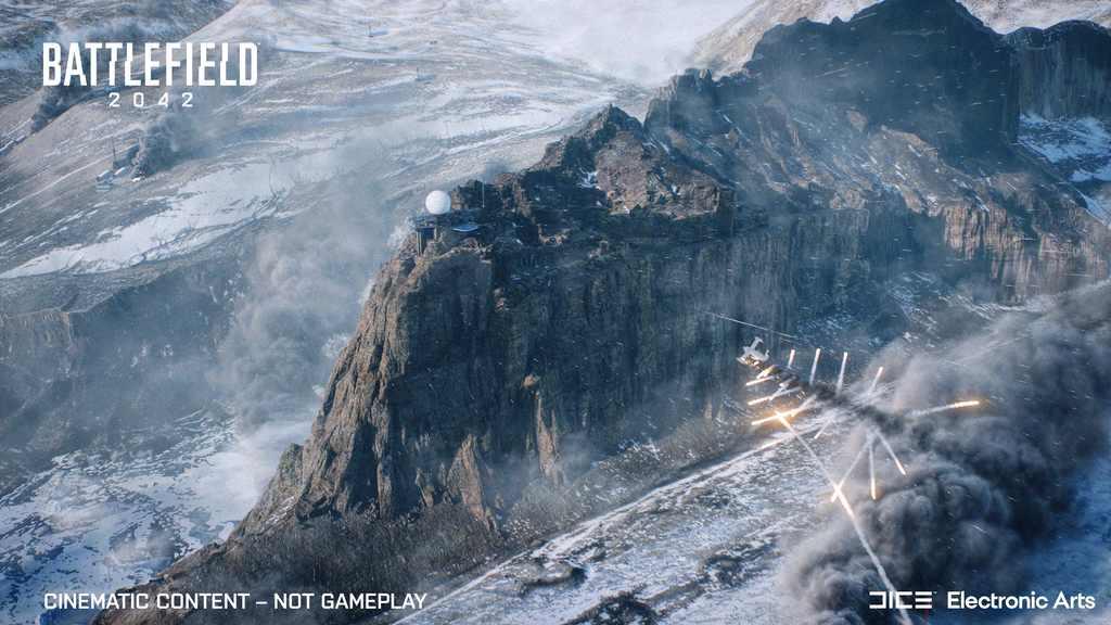 مپ BREAKAWAY در battlefield 2042