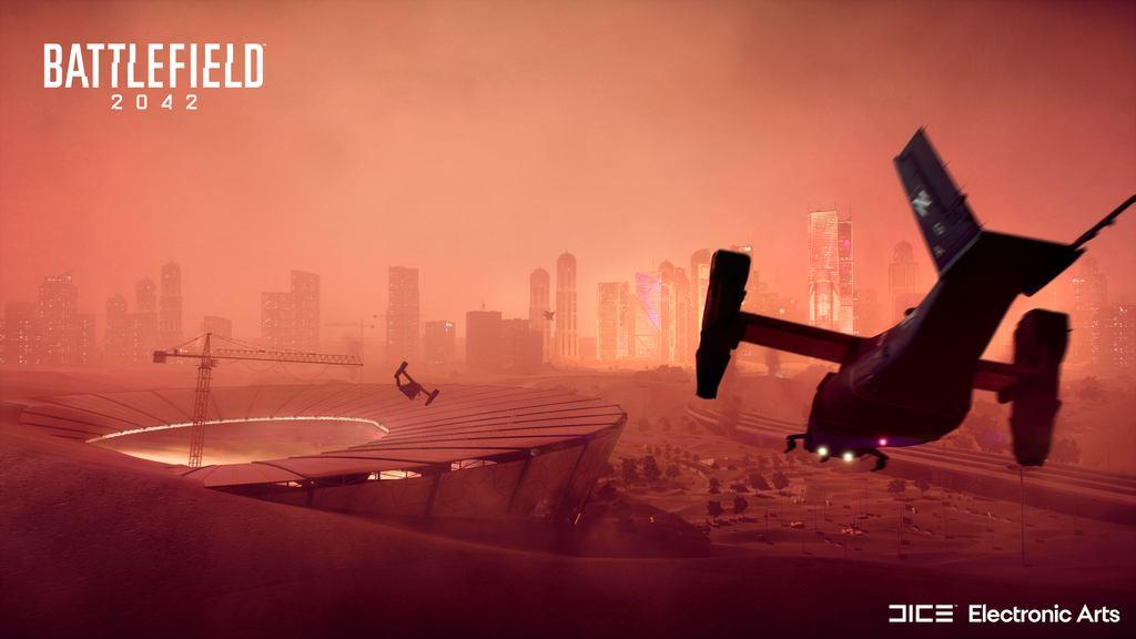 مپ HOURGLASS در battlefield 2042