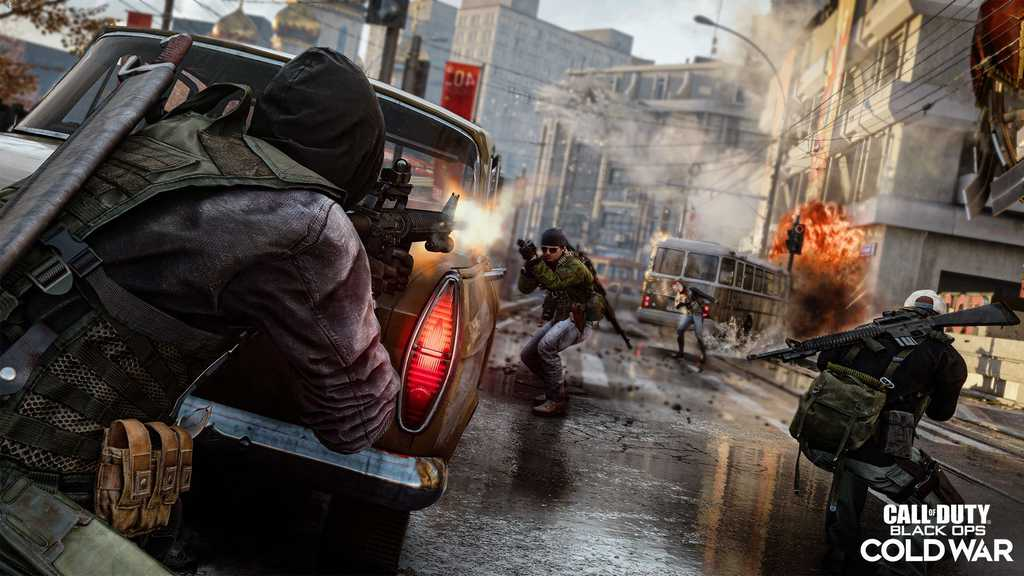 COD Cold War - بازی های شوتر برتر PS5