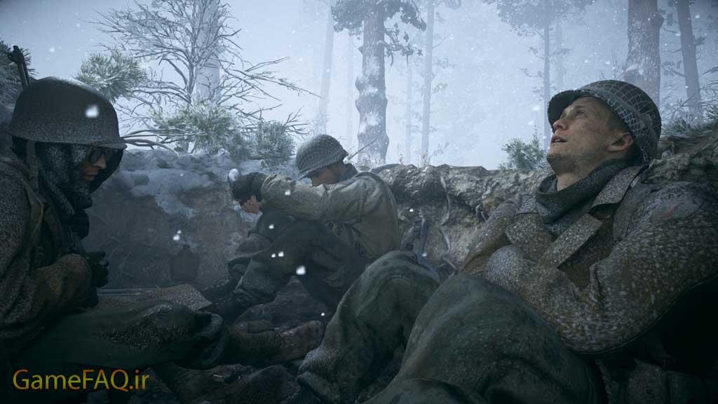 اجرای بازی COD WW2 در سیستم ضعیف