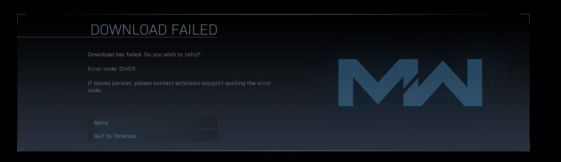 رفع خطای codes 6 و DIVER در بازی