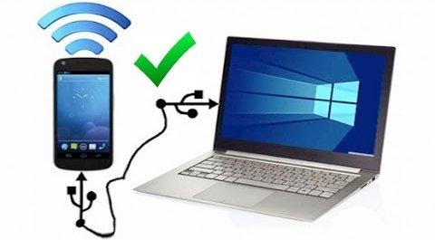 روش های به اشتراک گذاری اینترنت گوشی با کامپیوتر (ویندوز)