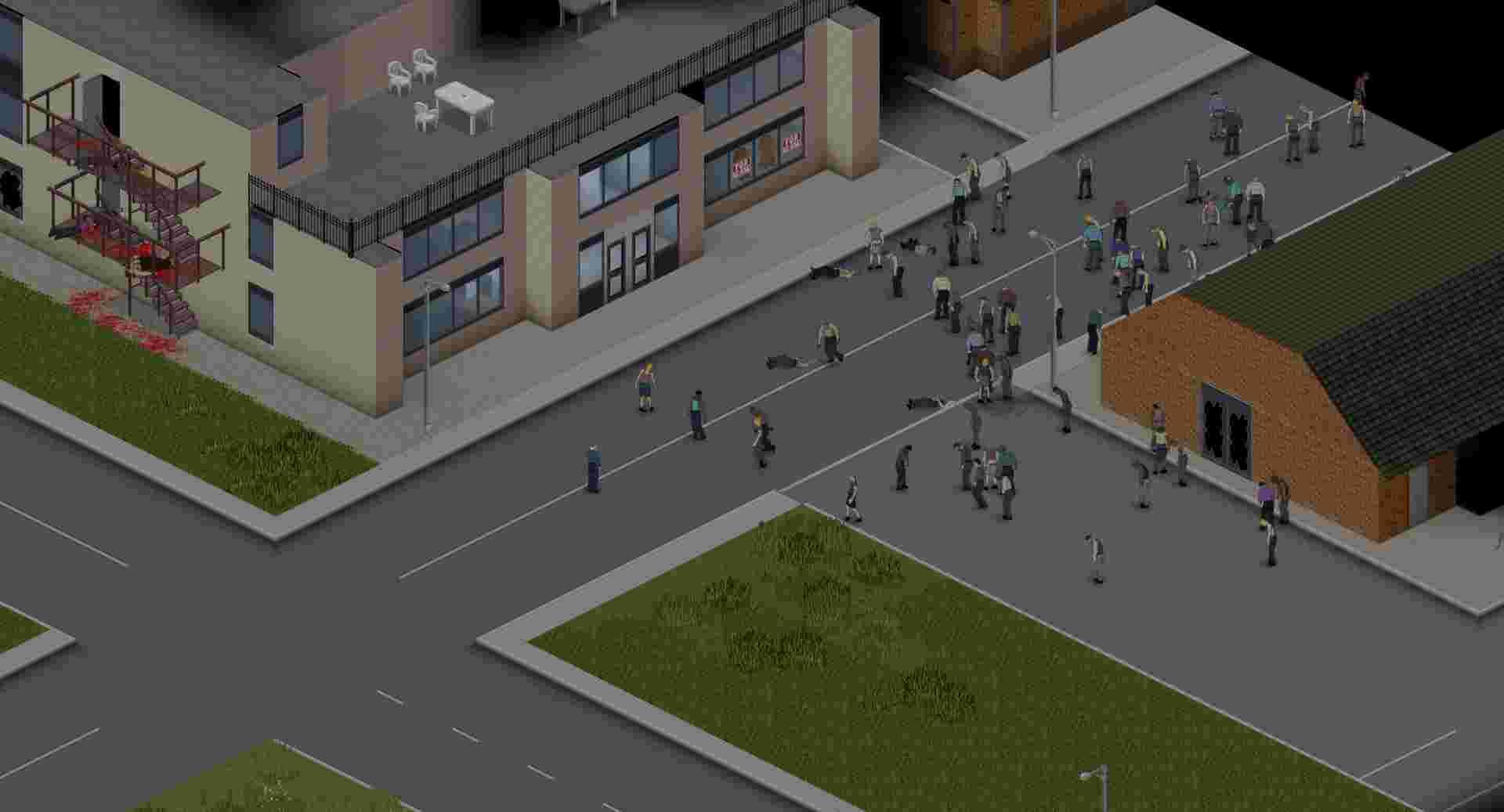 بازی رامبی آنلاین Project Zomboid