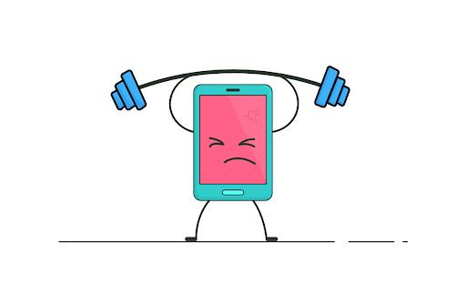 کاهش لگ گوشی هنگام اجرای بازی سنگین