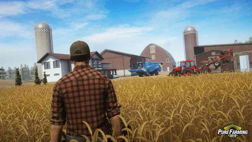 معرفی بازی کشاورزی Pure Farming برای PS4
