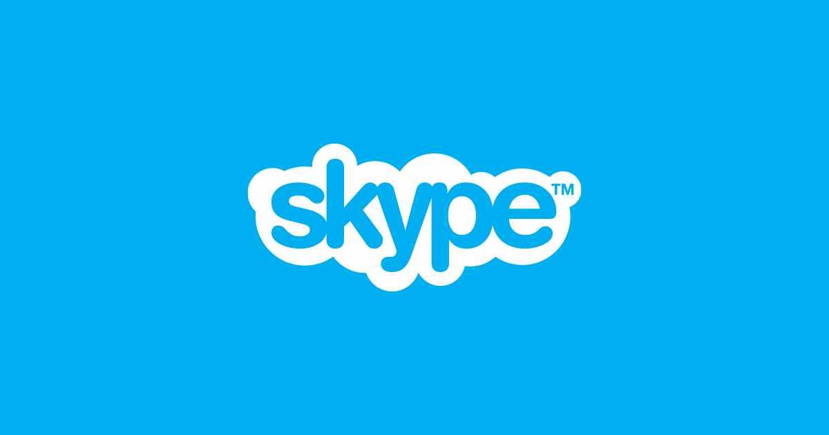 Skype برای تماس صوتی و تصویری
